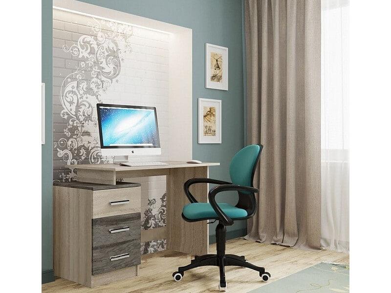 письменный стол из сосны сосны