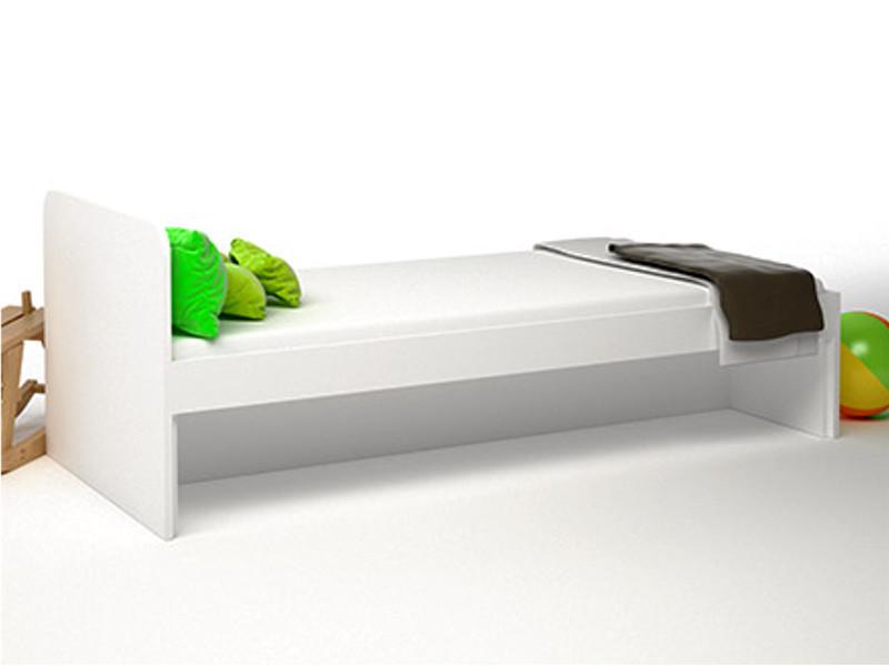 Кровать без ящиков 1652х756х602 ДМ-К1-1-1 Сп.место 1600х700