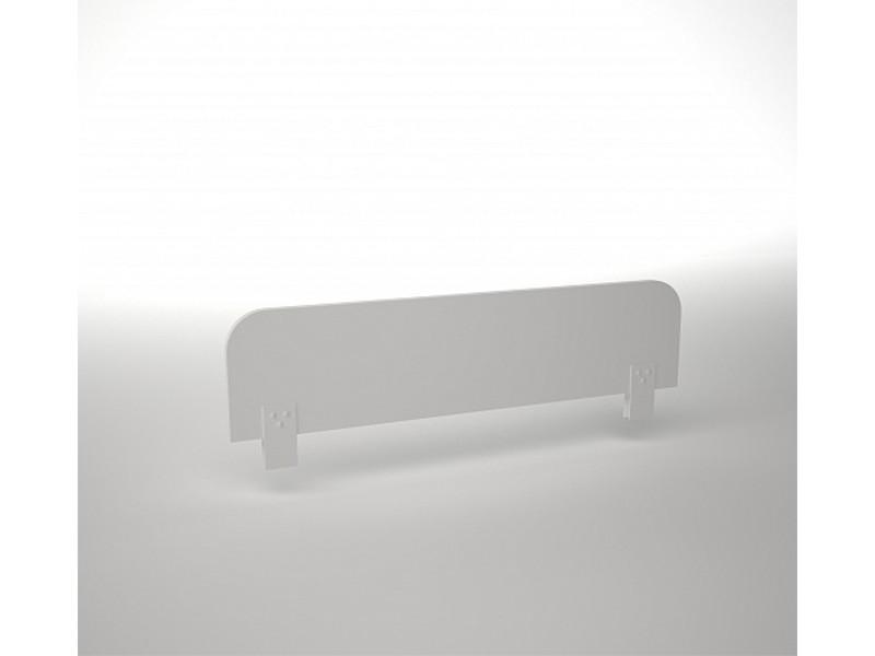 Ограждение белое для кровати ДМ-К1-1-5 800х20х246