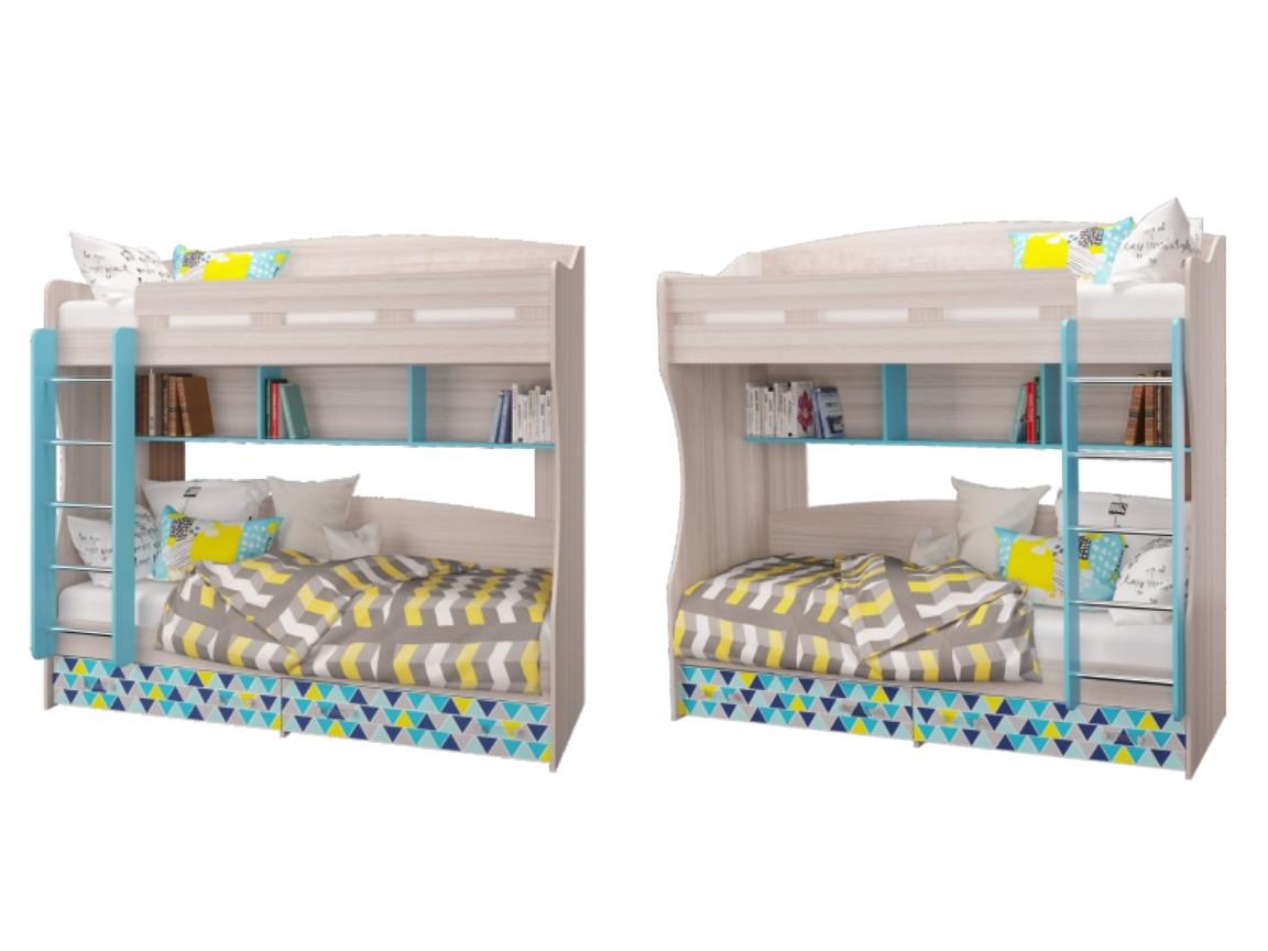 Кровать 2-х ярусная 2052х1000х1990мм