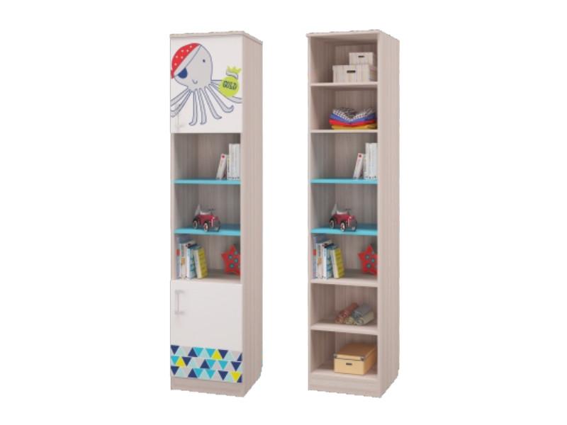 Шкаф для книг с 2-мя дверками 451х446х2136мм