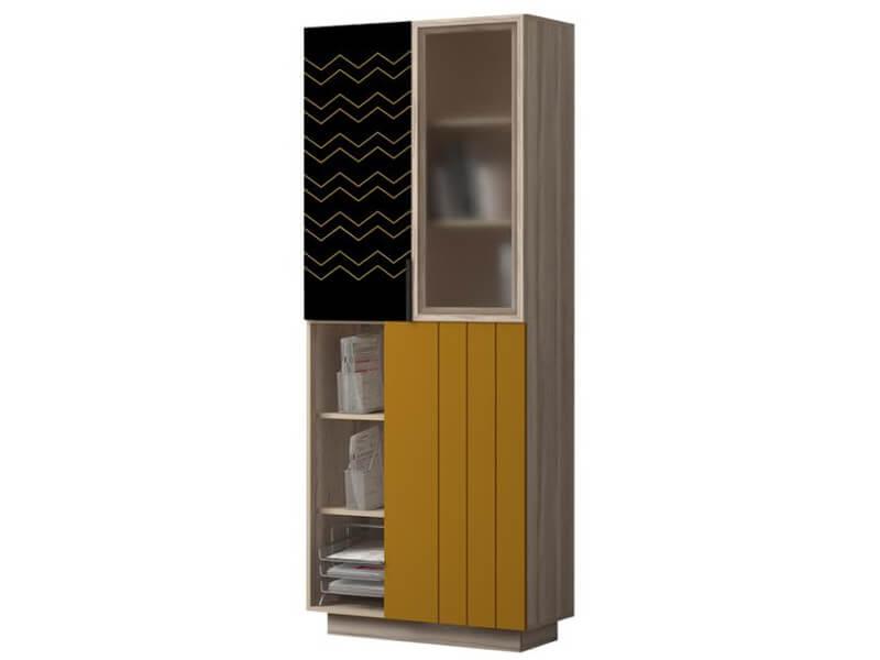 Шкаф для книг 781 800х1980х425 мм