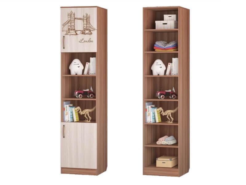 Шкаф для книг с 2-мя дверками 451х446х2136