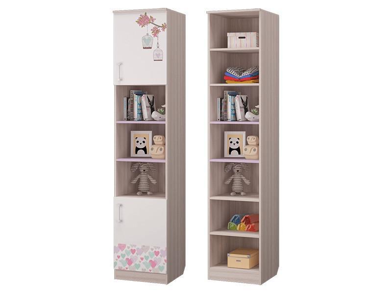 Шкаф для книг с 2-мя дверками 451х446х2136 мм