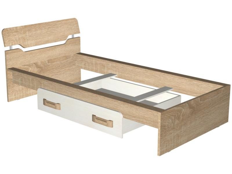Кровать с ящиком 1054х2103х790 без основания