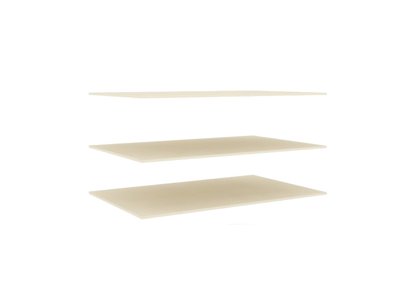 Полки шкафа двухстворчатого ЛД.509290.000 Штрихлак