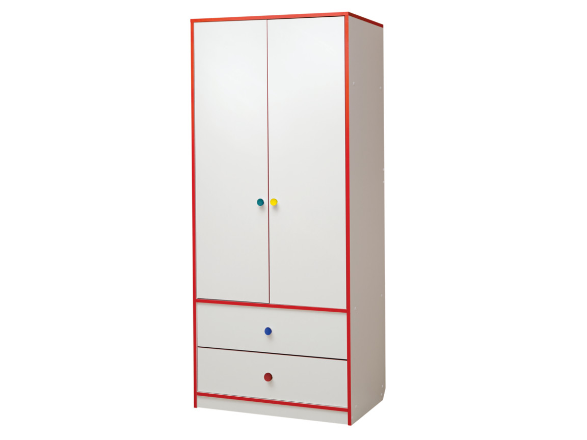 Шкаф для платья и белья 800x1900x540