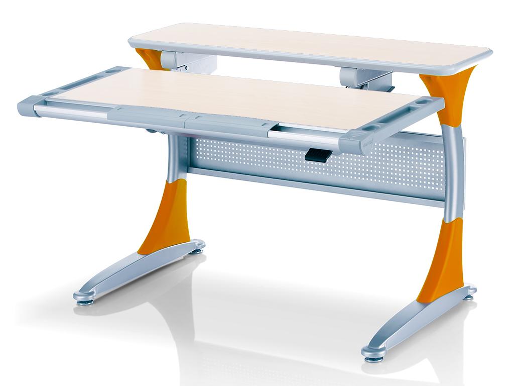 Парта Comf-Pro Harvard BD-333 TG-Y дуб-оранжевый