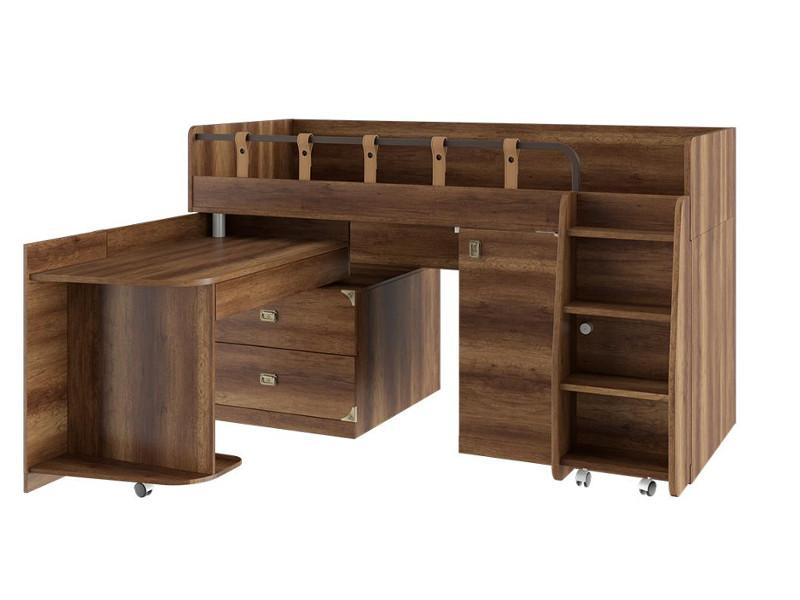 Кровать комбинированная ТД-250.11.02 2044х1855х1186