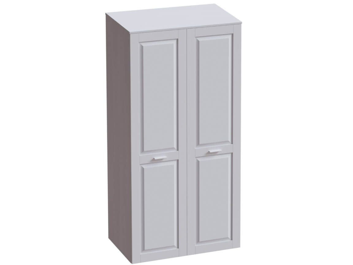 Шкаф 2х дверный 1000х520х2020 морская волна