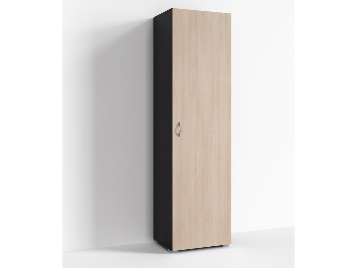 Шкаф 1 дверь Г-ШС-1-3 500-400-1820 Дуб миланский-дуб девонширский