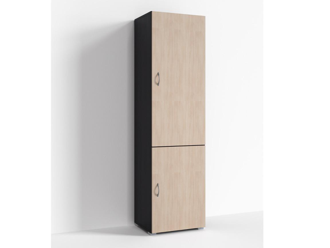 Шкаф 2 двери Г-ШС-1-2 500-400-1820 Дуб миланский-дуб девонширский