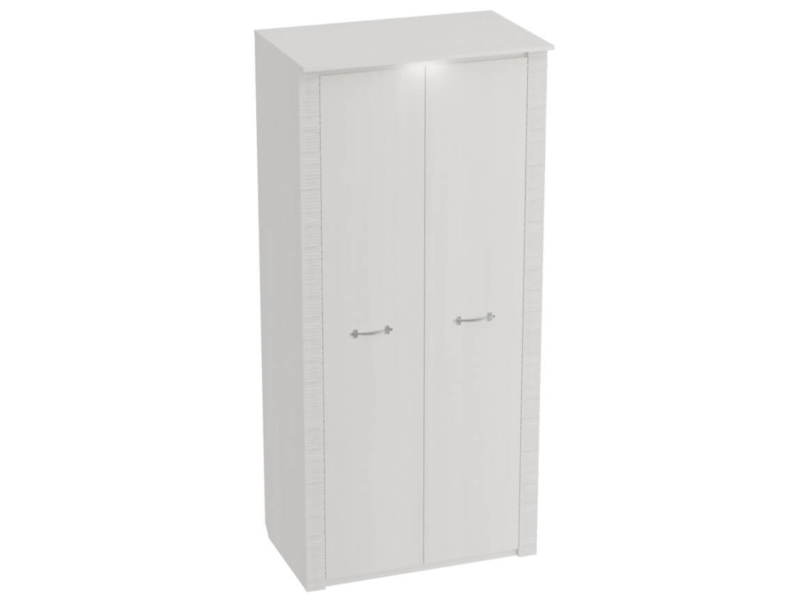 Шкаф 2-дверный с подсветкой 1010х645х2185