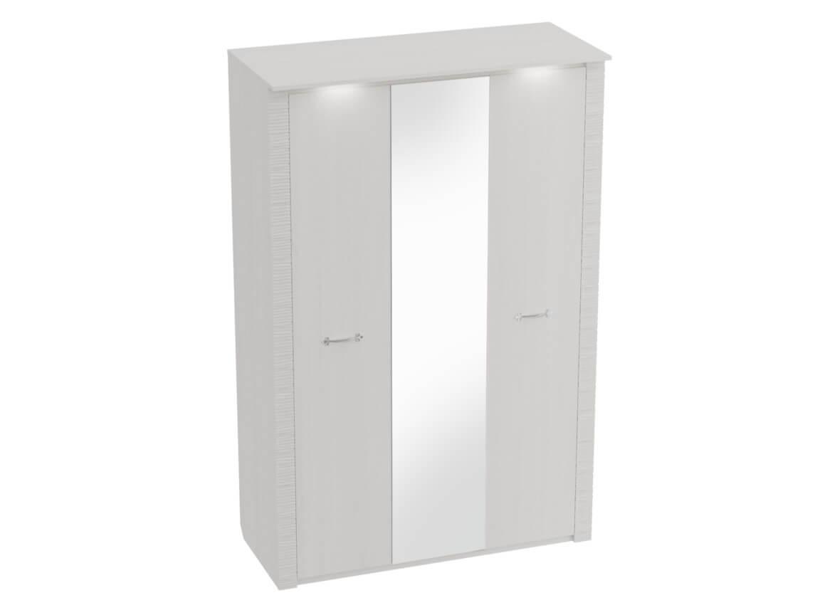 Шкаф 3-дверный с подсветкой 1430х645х2185