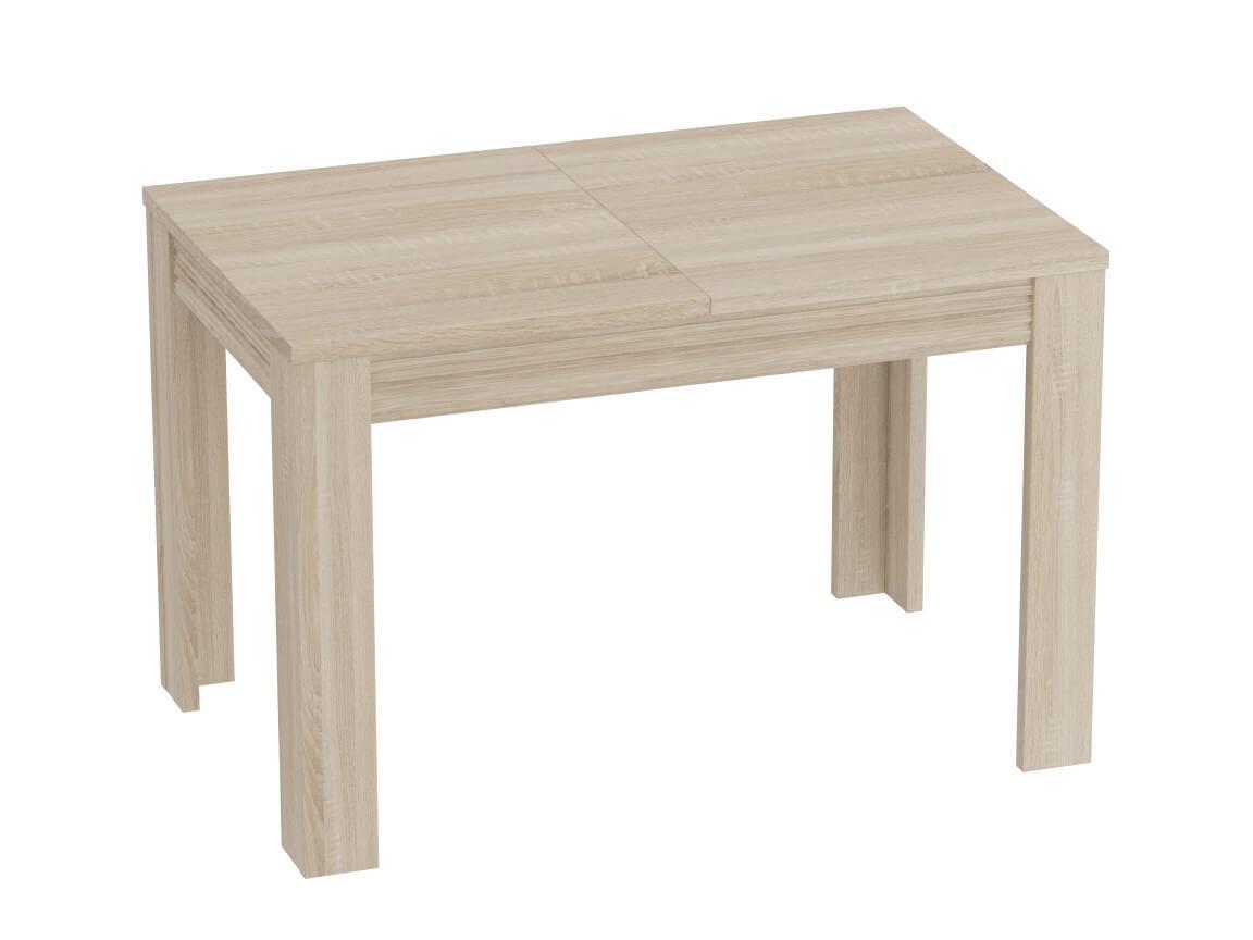 Стол раздвижной 1100х720х730 Дуб Сонома