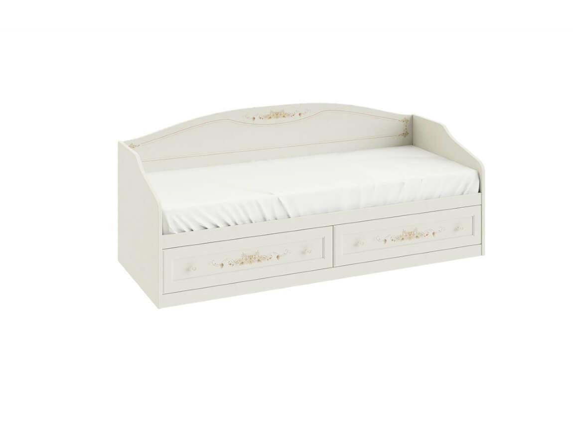 Кровать с 2-мя ящиками 853х2044х839 спальное место 80х200