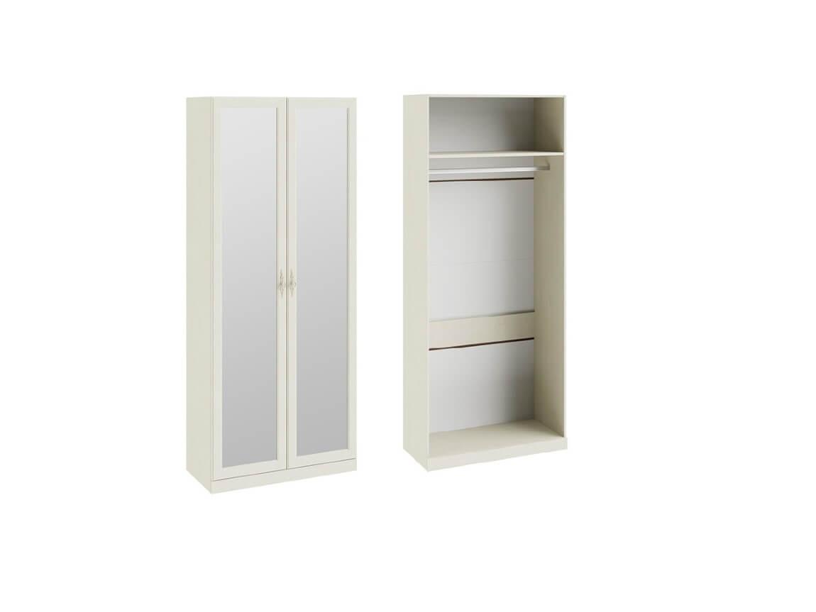 Шкаф для одежды с 2-мя зеркальными дверями СМ-235-22-02 2161х895х429