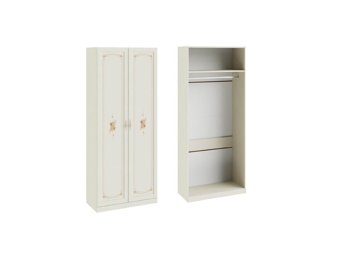Шкаф для одежды с 2-мя дверями СМ-235-22-01 2161х895х429