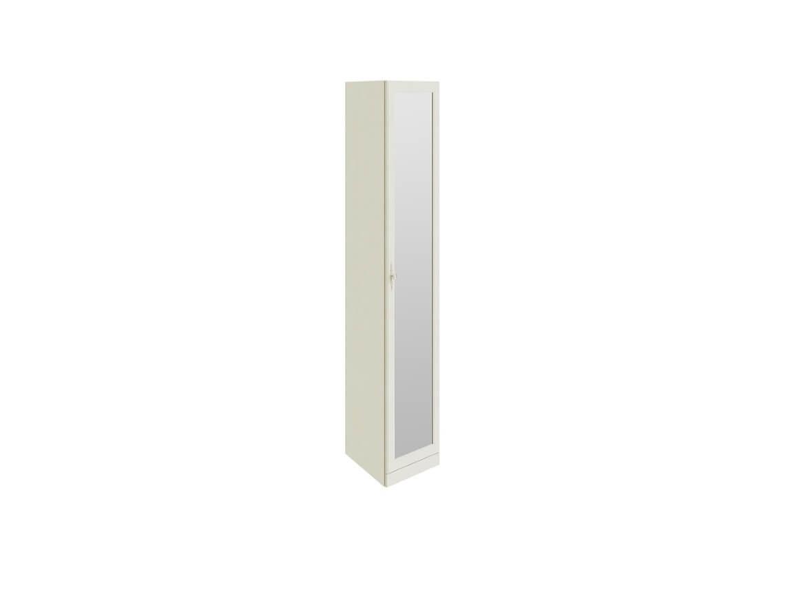 Шкаф торцевой с 1-ой зеркальной дверью СМ-235-07-09 2161х417х580