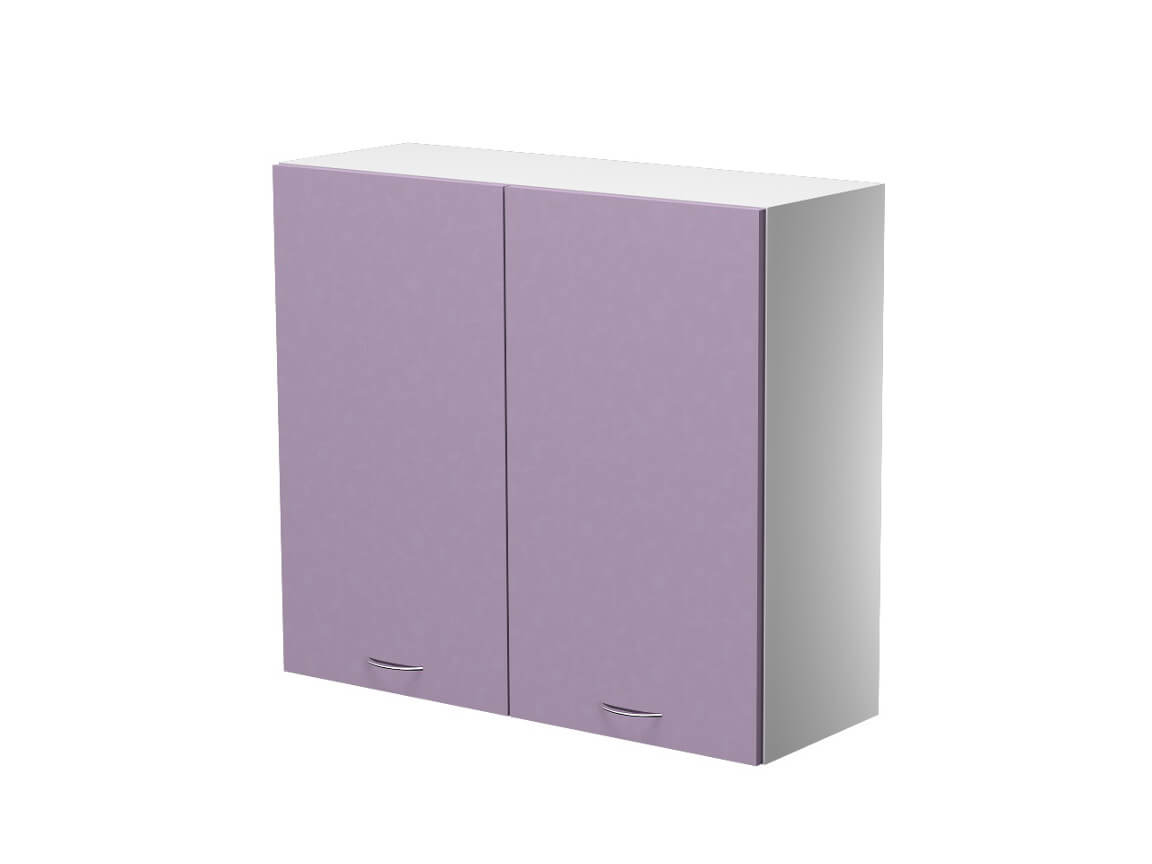 Шкаф навесной 2 дверцы ШН.80.7.2-ШНП 800х300х720