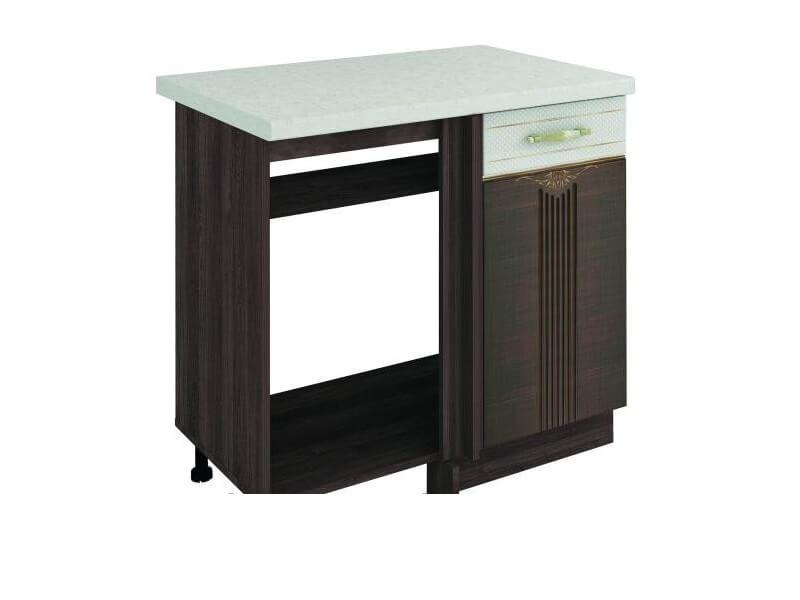 Стол под мойку угловой универсальный 11.52 1000х530х820 без столешницы