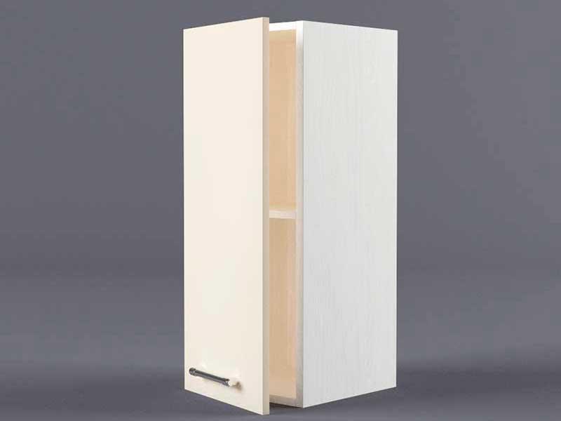 Шкаф навесной В200 1дв 720х200х300 Бежевый