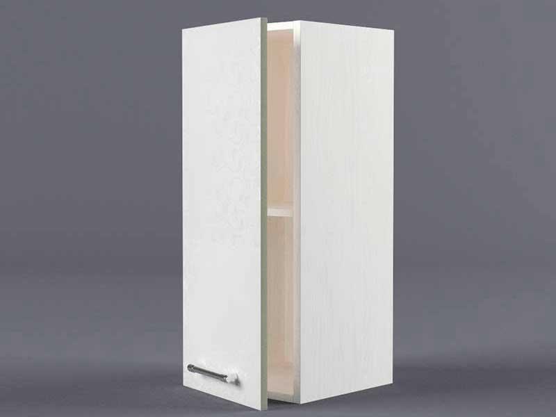 Шкаф навесной В200 1дв 720х200х300 Белые цветы
