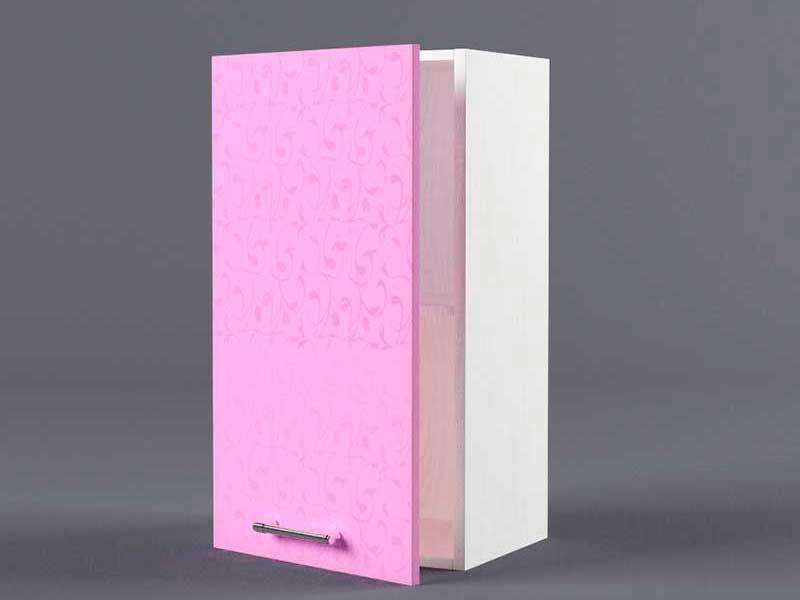Шкаф навесной В400 1дв 720х400х300 Фиолетовый