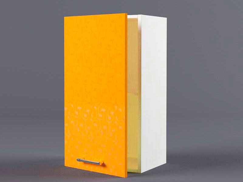 Шкаф навесной В400 1дв 720х400х300 Оранжевый