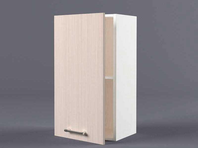 Шкаф навесной В400 1дв 720х400х300 Шимо светлый
