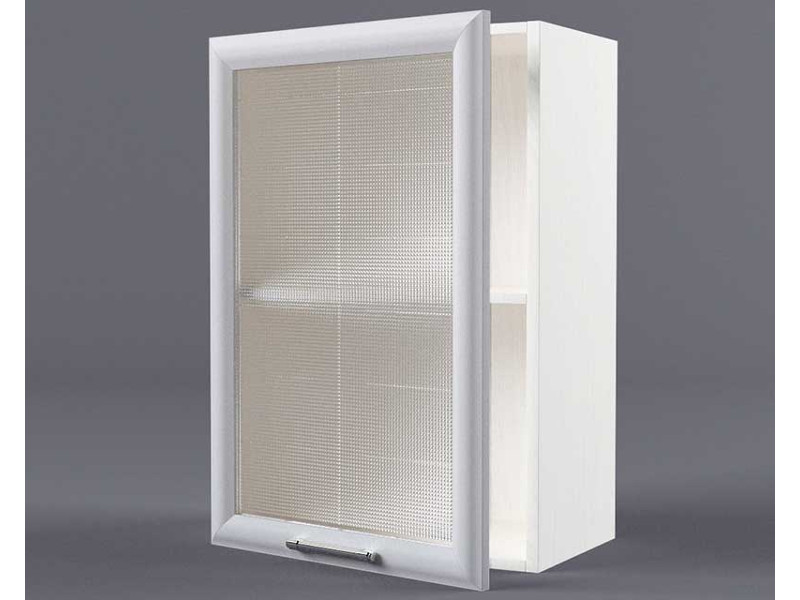 Шкаф навесной В500 1дв ст рамка серая 720х500х300