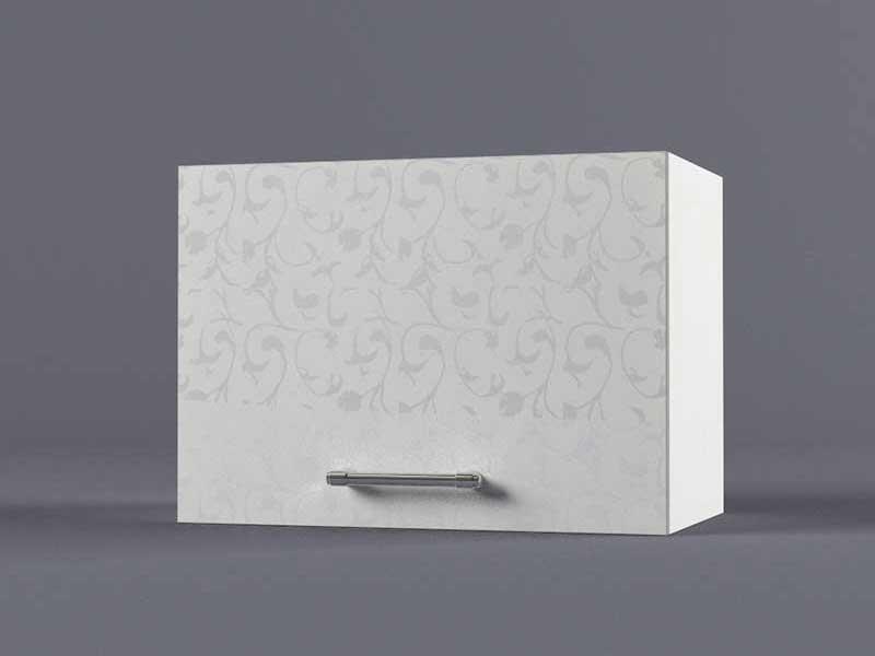 Шкаф навесной В500 1газ 360х500х300 Белые цветы