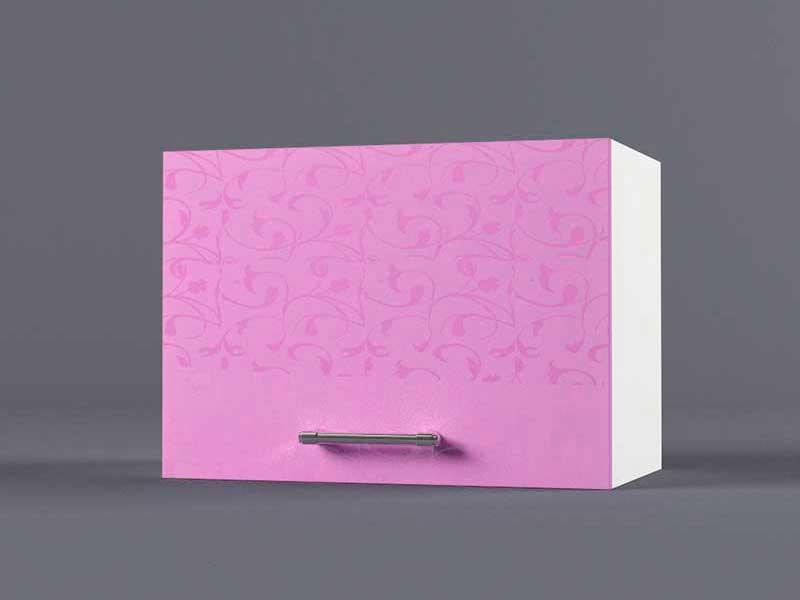 Шкаф навесной В500 1газ 360х500х300 Фиолетовый
