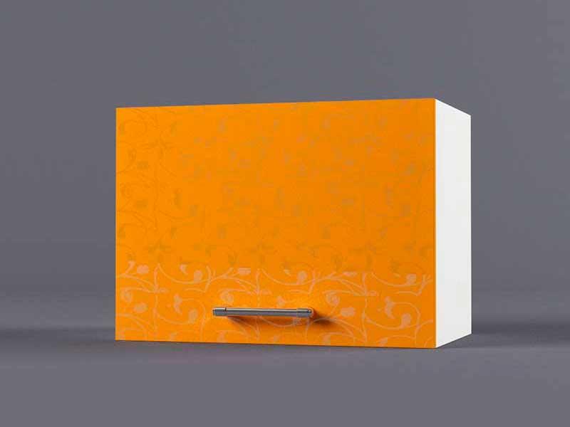 Шкаф навесной В500 1газ 360х500х300 Оранжевый