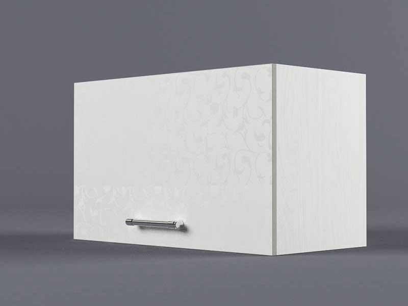 Шкаф навесной В600 1газ 360х600х300 Белые цветы