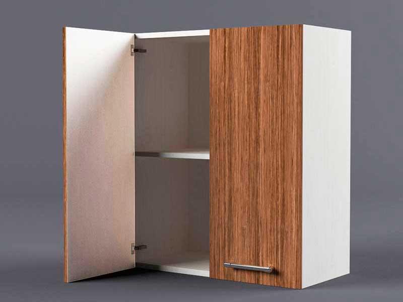 Шкаф навесной В600 2дв 720х600х300 Бодега темная