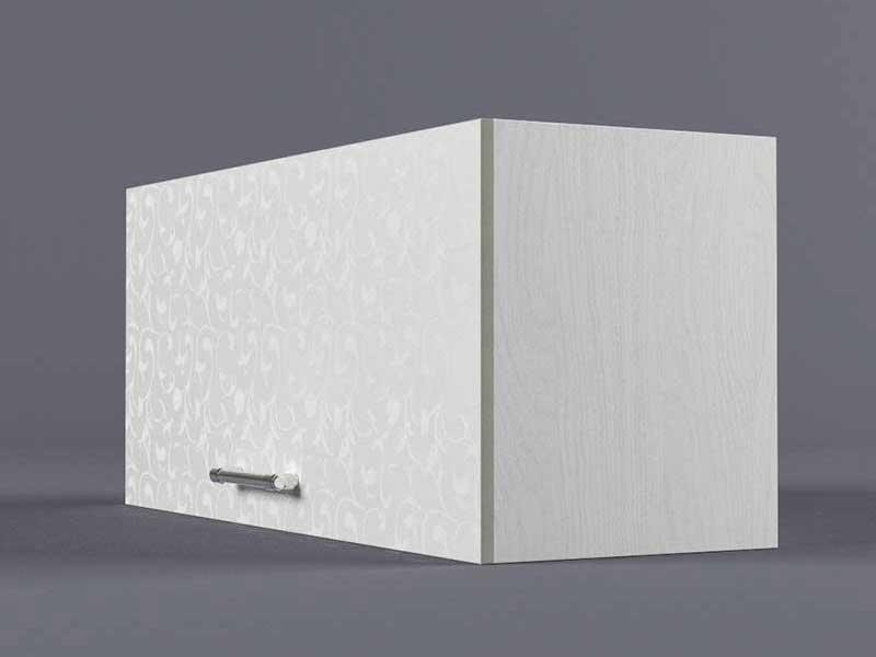 Шкаф навесной В800 1газ 360х800х300 Белые цветы