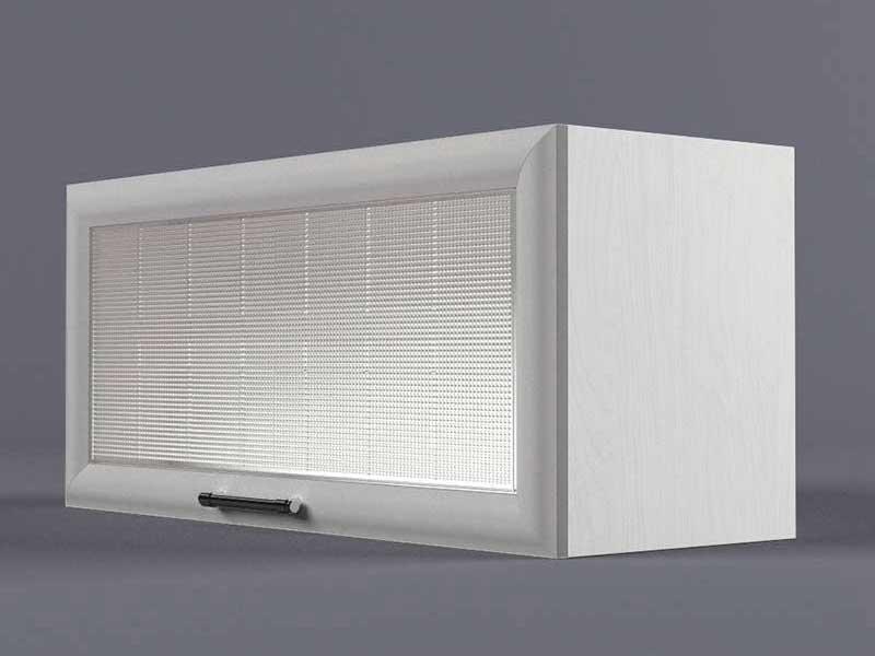 Шкаф навесной В800 1газ ст рамка серая 360х800х300