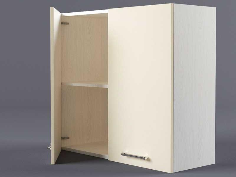 Шкаф навесной В800 2дв 720х800х300 Бежевый
