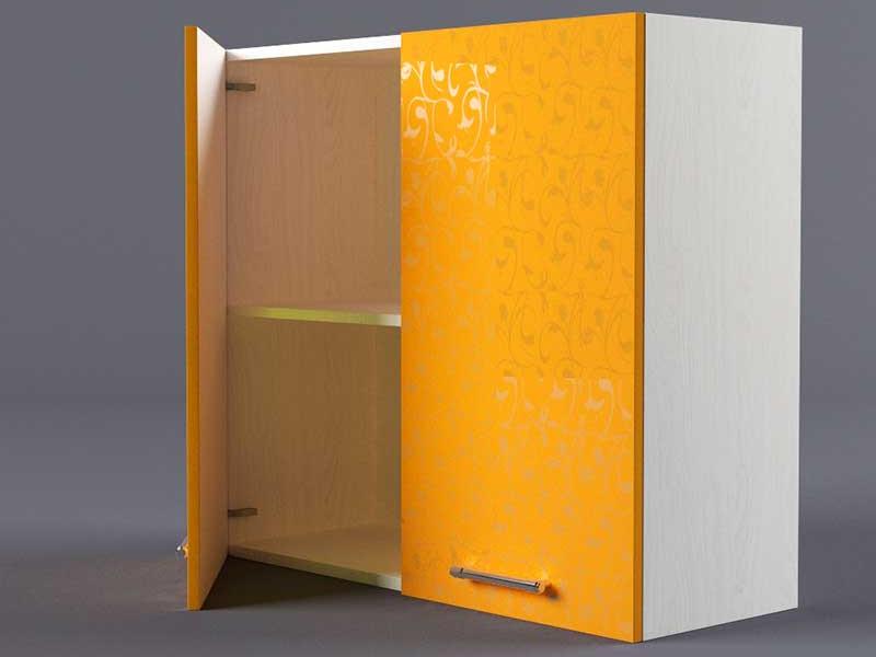 Шкаф навесной В800 2дв 720х800х300 Оранжевый