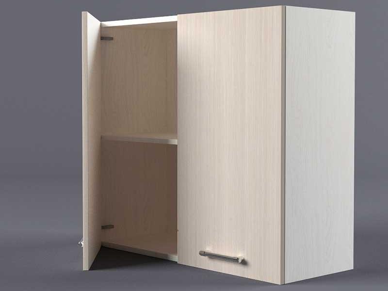 Шкаф навесной В800 2дв 720х800х300 Шимо светлый