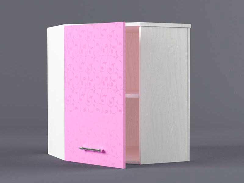Шкаф навесной ВУ600х600 1дв 720х600-600х300 Фиолетовый