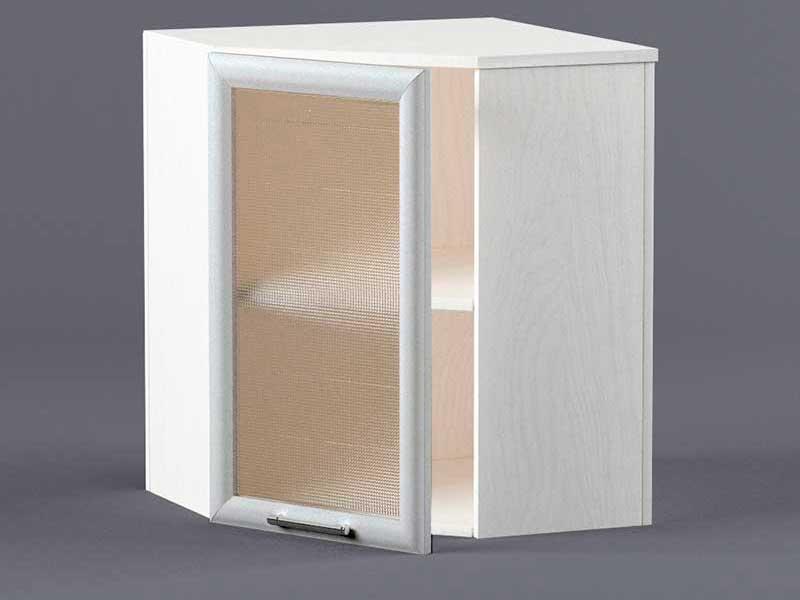 Шкаф навесной ВУ600х600 1дв ст рамка серая 720х600-600х300