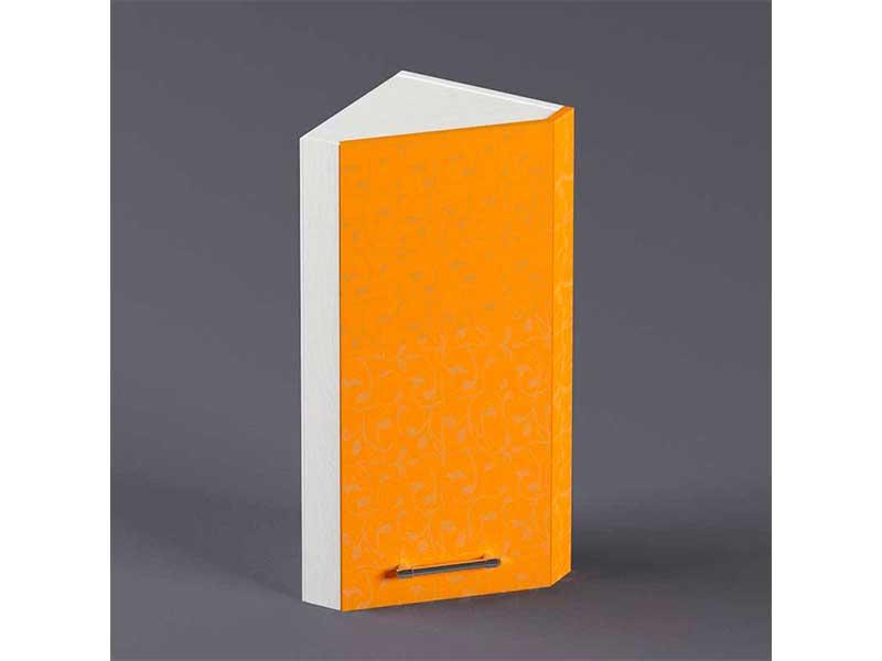 Шкаф навесной ВУЗ300 1дв скос левый 720х300х300 Оранжевый