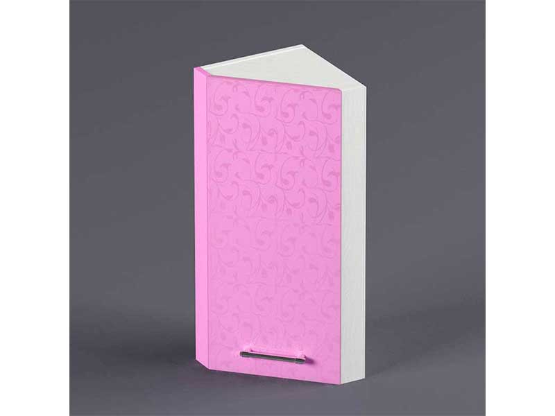 Шкаф навесной ВУЗ300 1дв скос правый 720х300х300 Фиолетовый