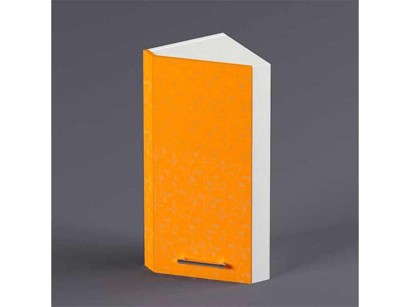 Шкаф навесной ВУЗ300 1дв скос правый 720х300х300 Оранжевый