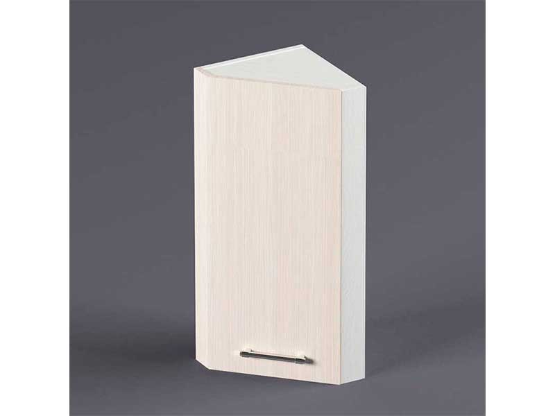 Шкаф навесной ВУЗ300 1дв скос правый 720х300х300 Шимо светлый