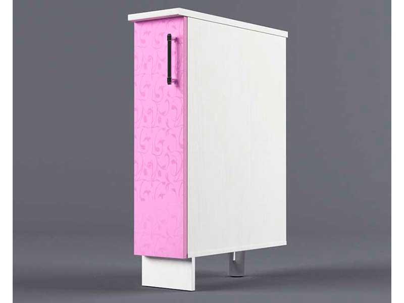 Шкаф напольный Н200 1дв бутылочница 850х200х600 Фиолетовый