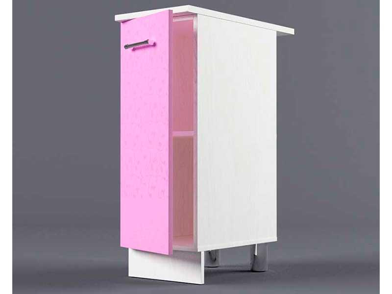 Шкаф напольный Н300 1дв 850х300х600 Фиолетовый