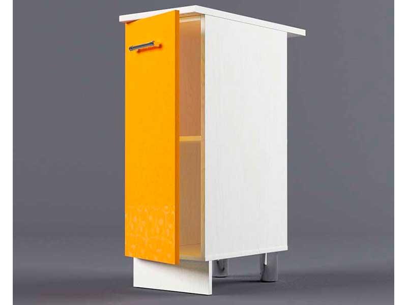 Шкаф напольный Н300 1дв 850х300х600 Оранжевый